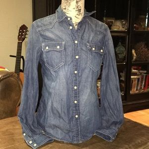 Tommy Hilfiger Tops - Tommy Hilfiger Chambray